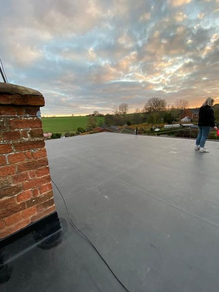 One stop roofing flat roof